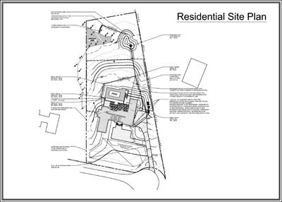 Site Design Consultants Engineering Services – Sample Site Plan